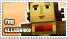 Ellegaard fan stamp by StampsMCSM