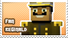 Reginald fan stamp by StampsMCSM
