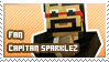 Capitan Sparklez fan stamp