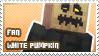White Pumpkin fan stamp by StampsMCSM