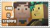 Dan/Stampy stamp by StampsMCSM