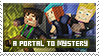 6 Episode: A Portal to Mystery stamp