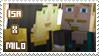 Isa/Milo stamp by StampsMCSM