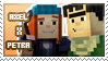 Axel/Petra stamp by StampsMCSM