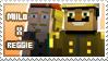 Milo/Reggie stamp by StampsMCSM