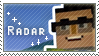 Radar Fan Stamp by StampsMCSM