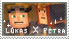 Lukas X Petra stamp by StampsMCSM