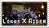 Lukas X Aiden stamp by StampsMCSM