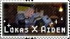 Lukas X Aiden stamp by StampsMCSM
