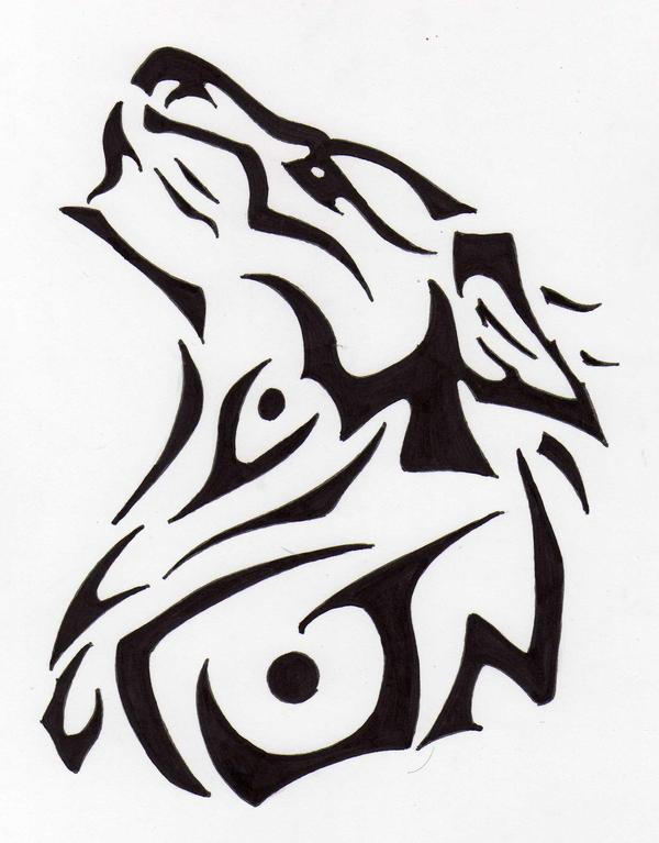 Tatuajes de lobos para dibujar - Imagui