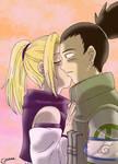 ShikaIno: Dusk Kiss