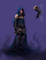 TEEN TITANS PROJECT FAN FILM (Raven Concept Art) by shakalegend