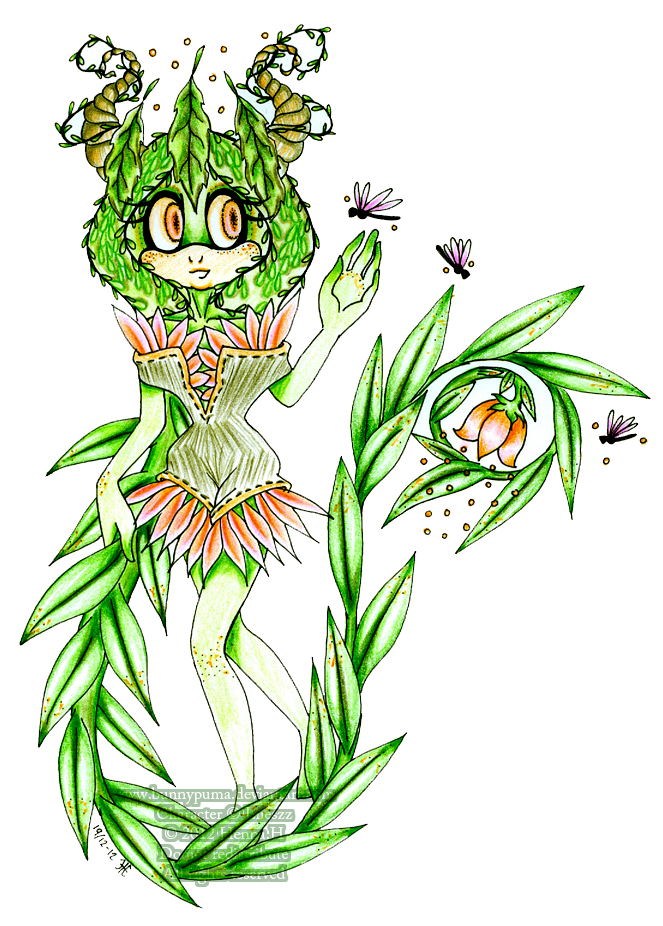 Oh flora, hermosa Velora by Bunnypuma