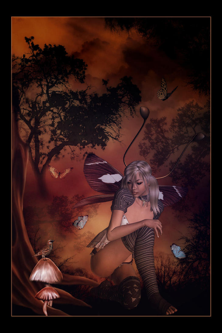 Butterfly Fae by Misty2007