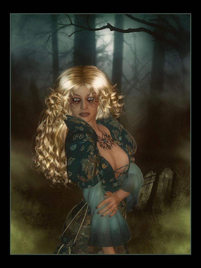 Elven Gypsy by Misty2007