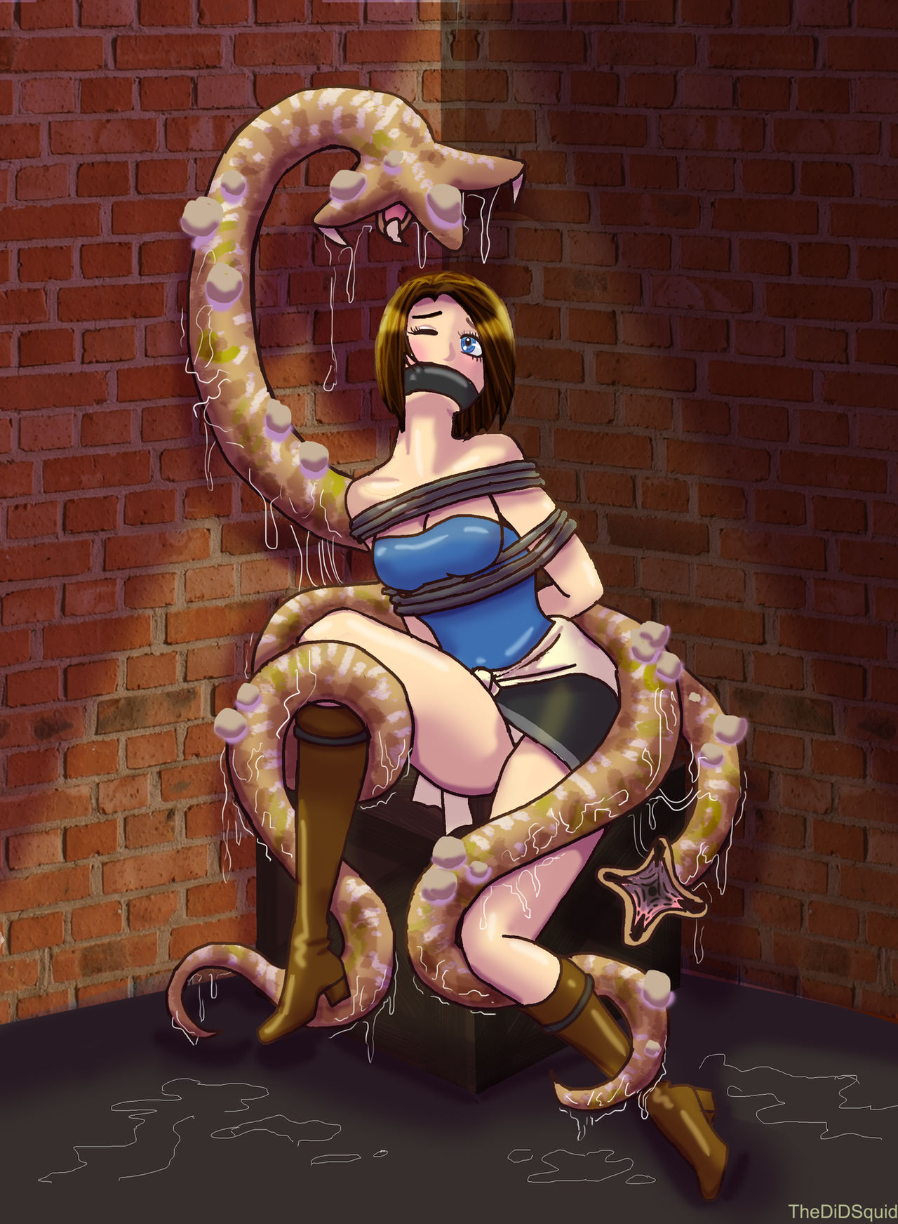 ResiDiD Evil:  Sliding Worms