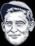Ed Walsh MLB HoF portrait