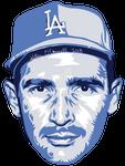 Sandy Koufax MLB HoF portrait