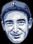 Tony Lazzeri MLB HoF portrait
