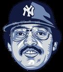 Reggie Jackson MLB HoF portrait