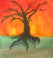 Black Pear Tree by detritius909