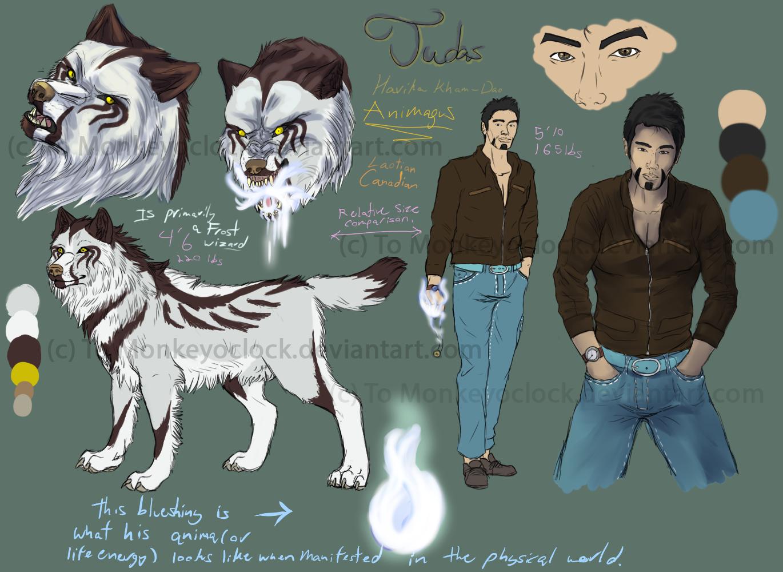 Judas Character Sheet (Updated info) by DarthAislin