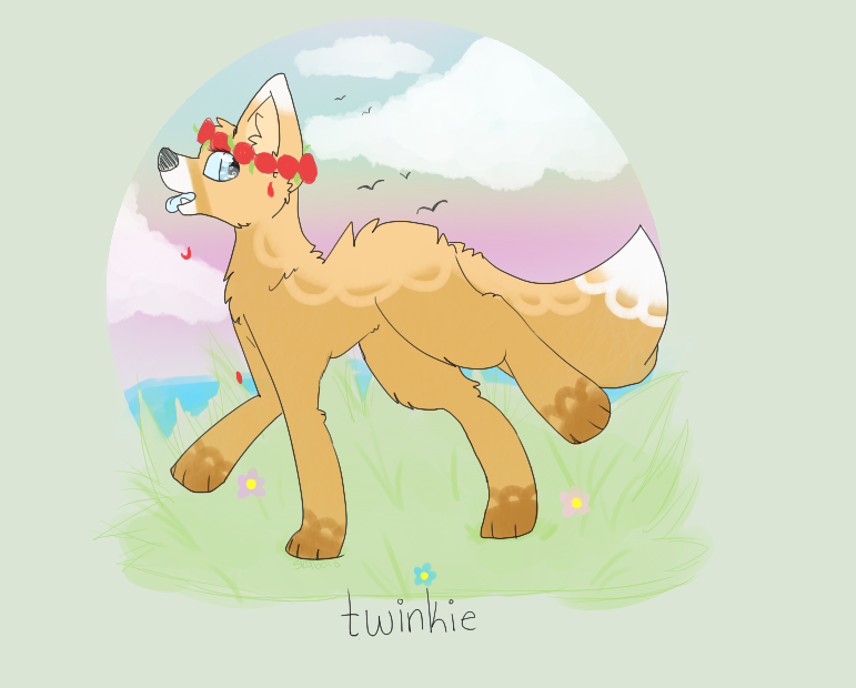 AT: Twinkie - By the Rolling Tide and Pastel Skies by f0xbutt