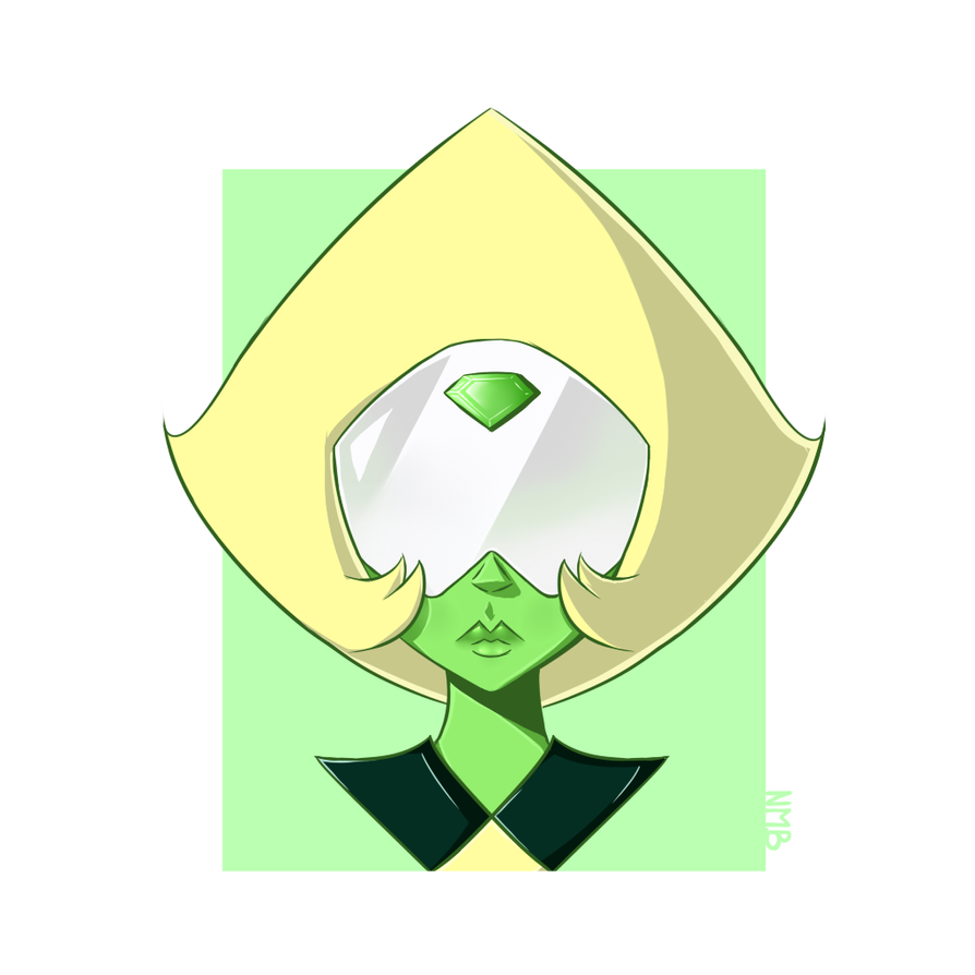 Serious Peridot by NotMagicalBeing