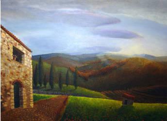 Tuscany by deepspaceexplorer