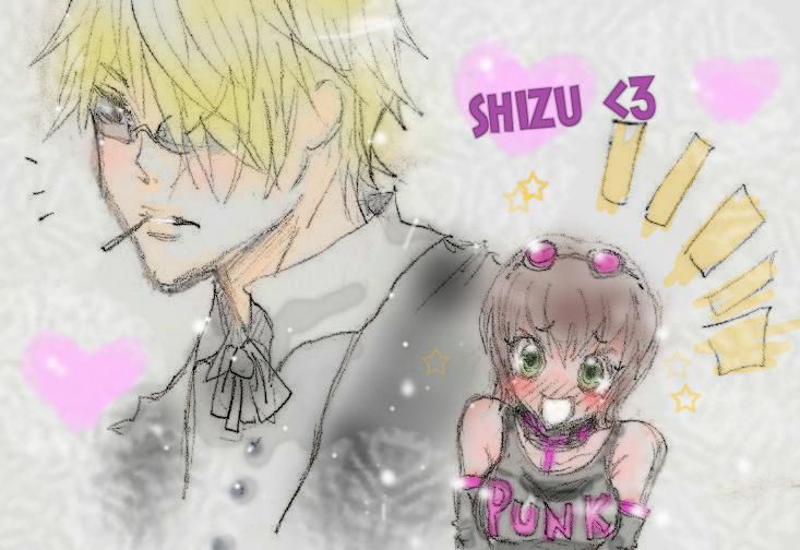 ART TRADE chesire-zombie:shizuuu so sexyy XD by xMADMATEx