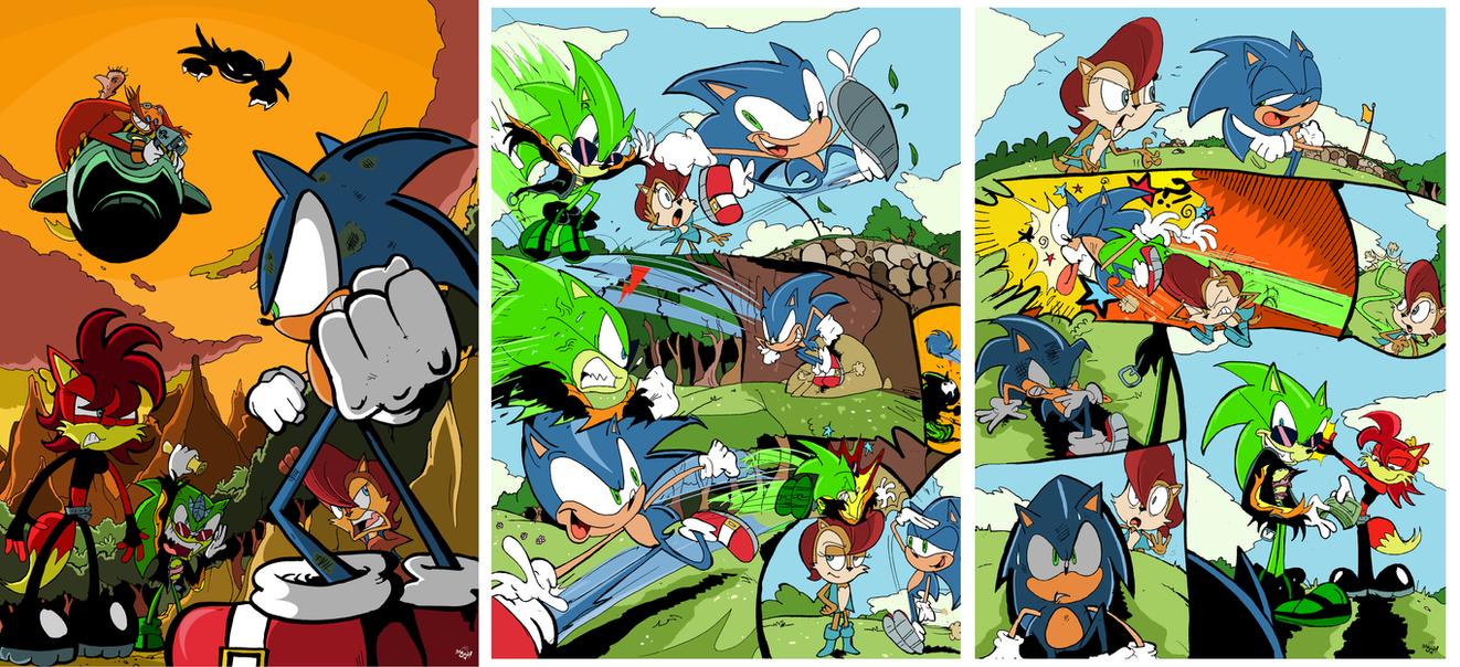 Sonic vs Fiona preview by Jowybean on DeviantArtScourge And Fiona Fanfiction