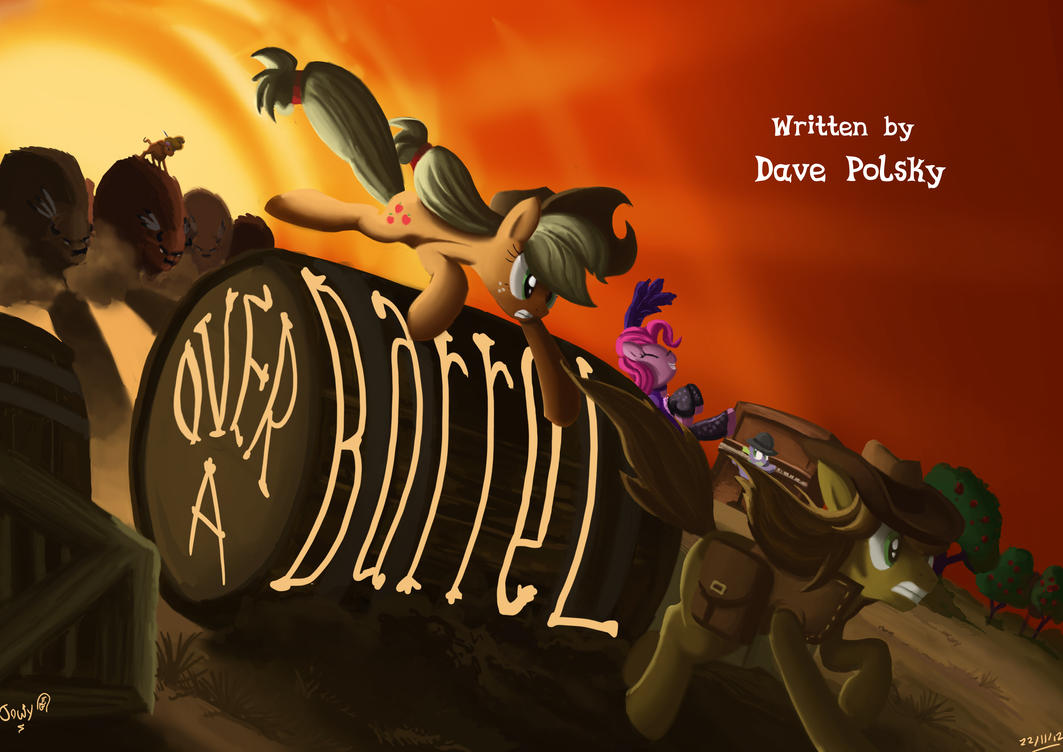 Appleloosa :FIM title cards series by Jowybean