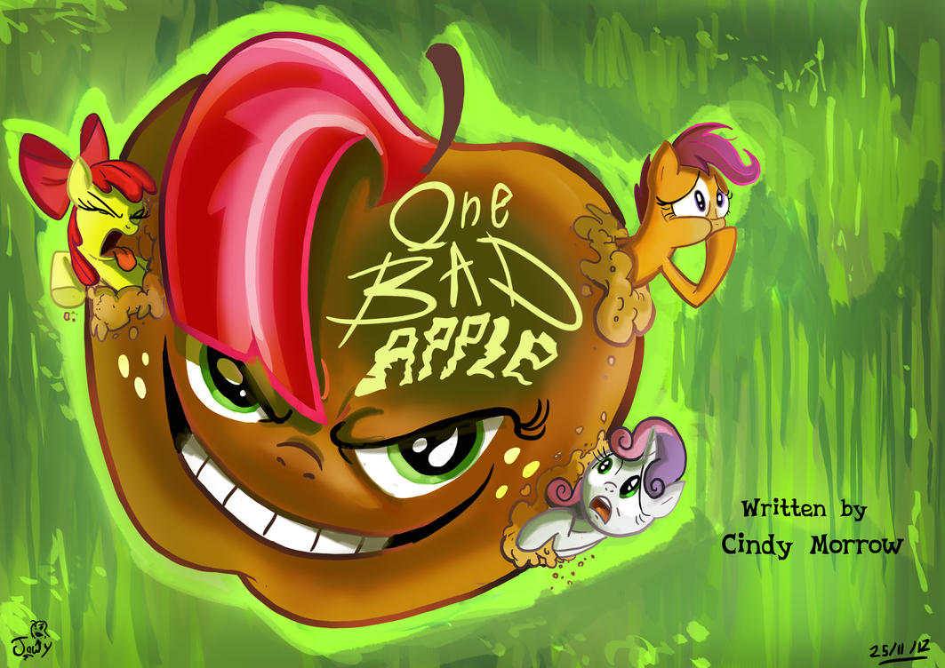 Bad Seed get it :FIM title cards series by Jowybean