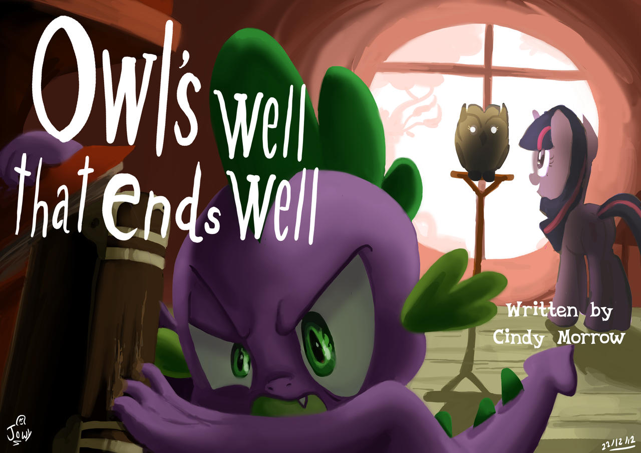 Owls have my revenge :FIM title cards series by Jowybean