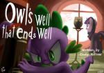 Owls have my revenge :FIM title cards series