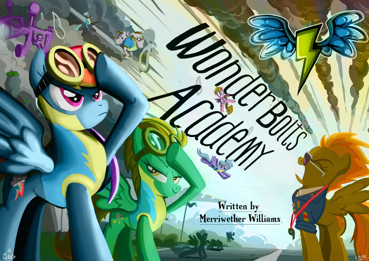 Wonder Reckless :FIM title cards series by Jowybean