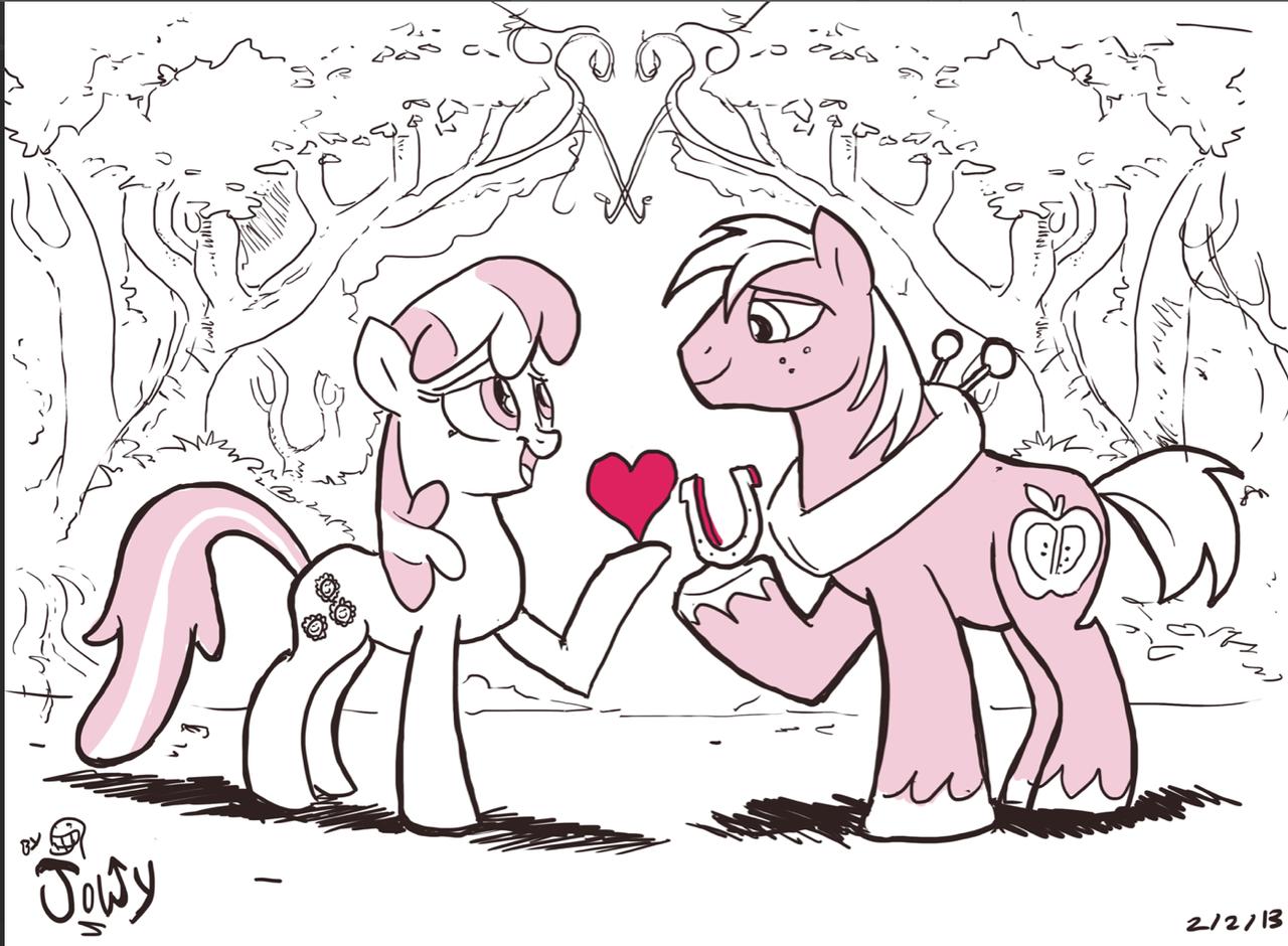 Shmoopy doopy sweetie weety pony pie (PG) by Jowybean