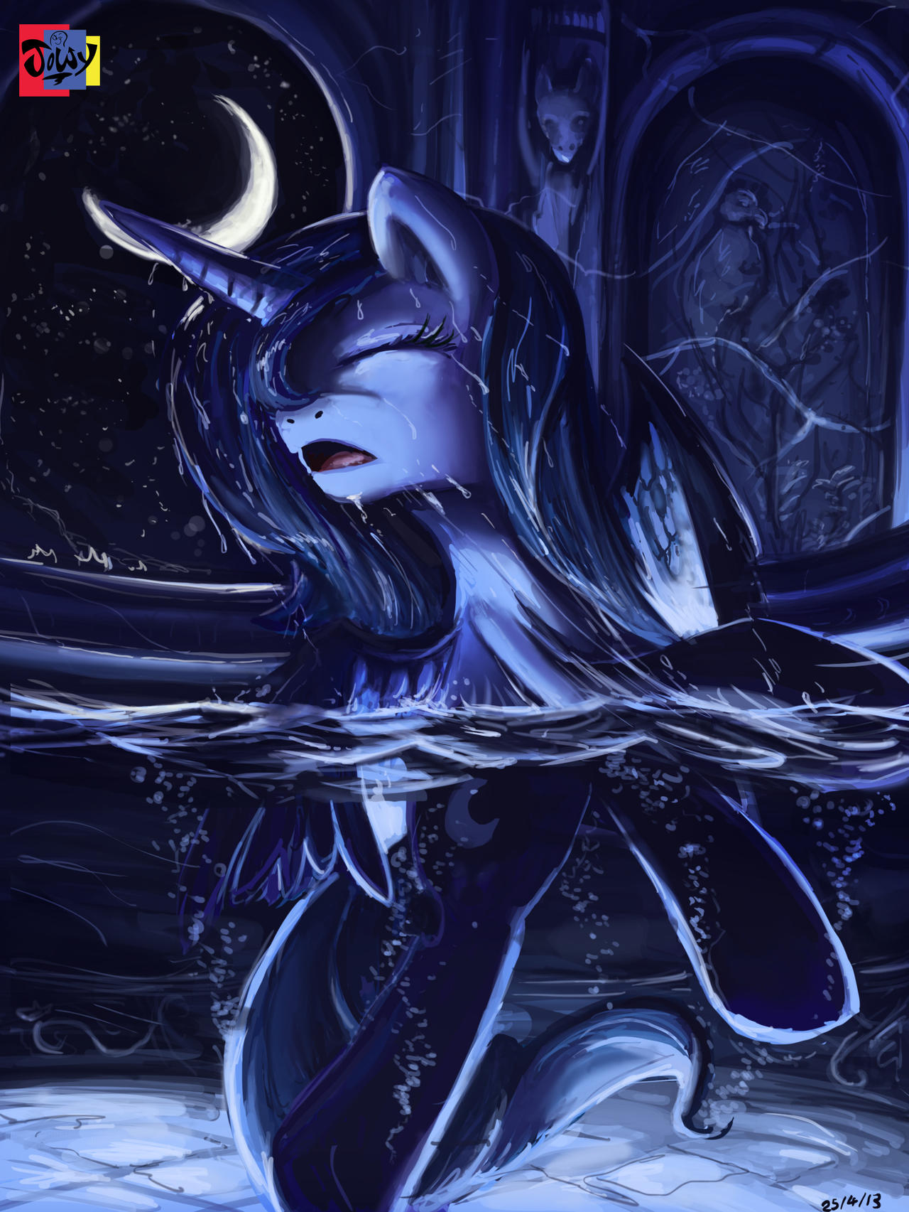 Cleansing night by Jowybean