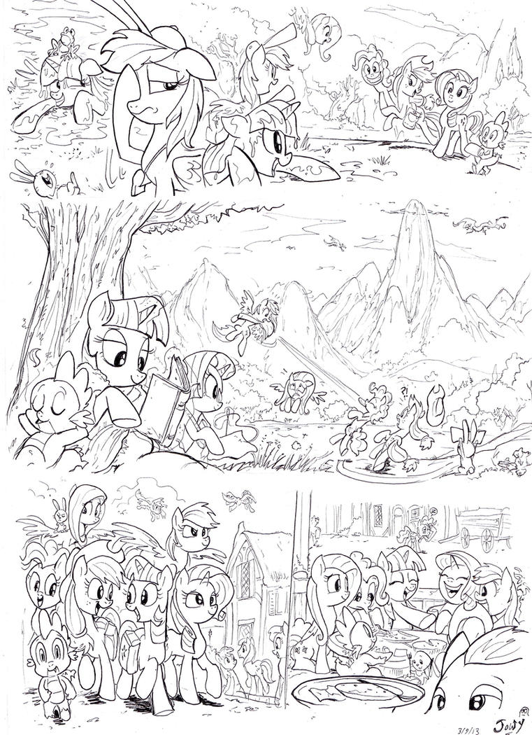 A Day in Equestria for Twily page 3 by Jowybean