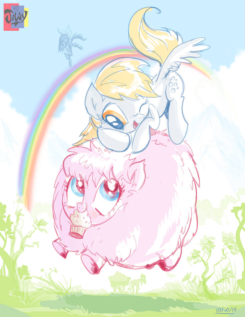 Fluffy Muffinly by Jowybean