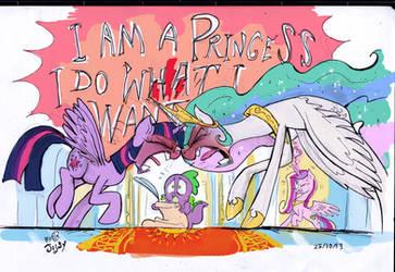 Dear princess... by Jowybean