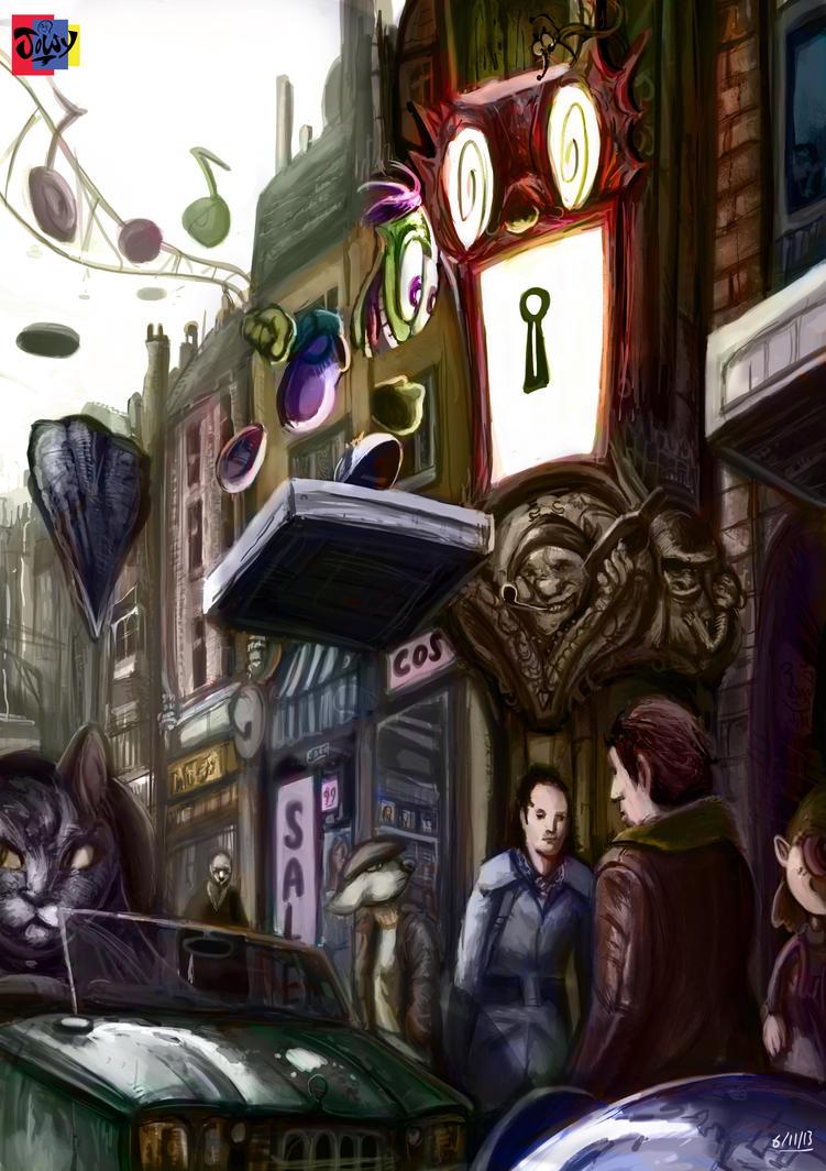 Unlocked STREET by Jowybean