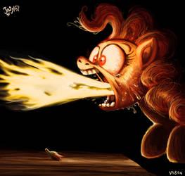 Spit Fire by Jowybean