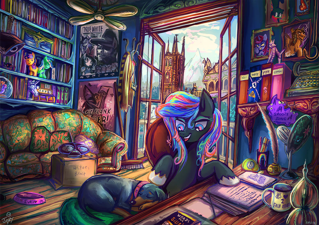 She who mares to read wins