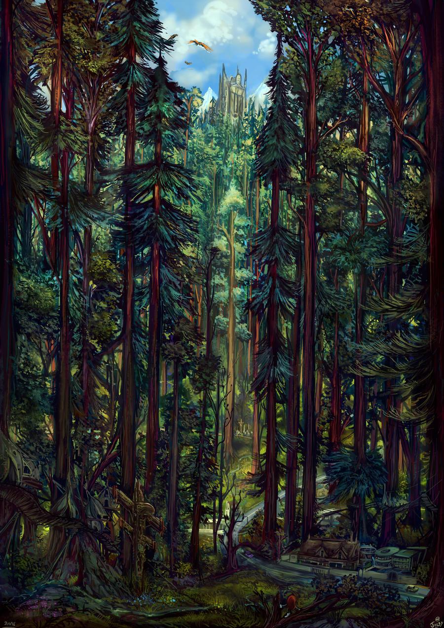 Eternal Forest - Elemental Illusion