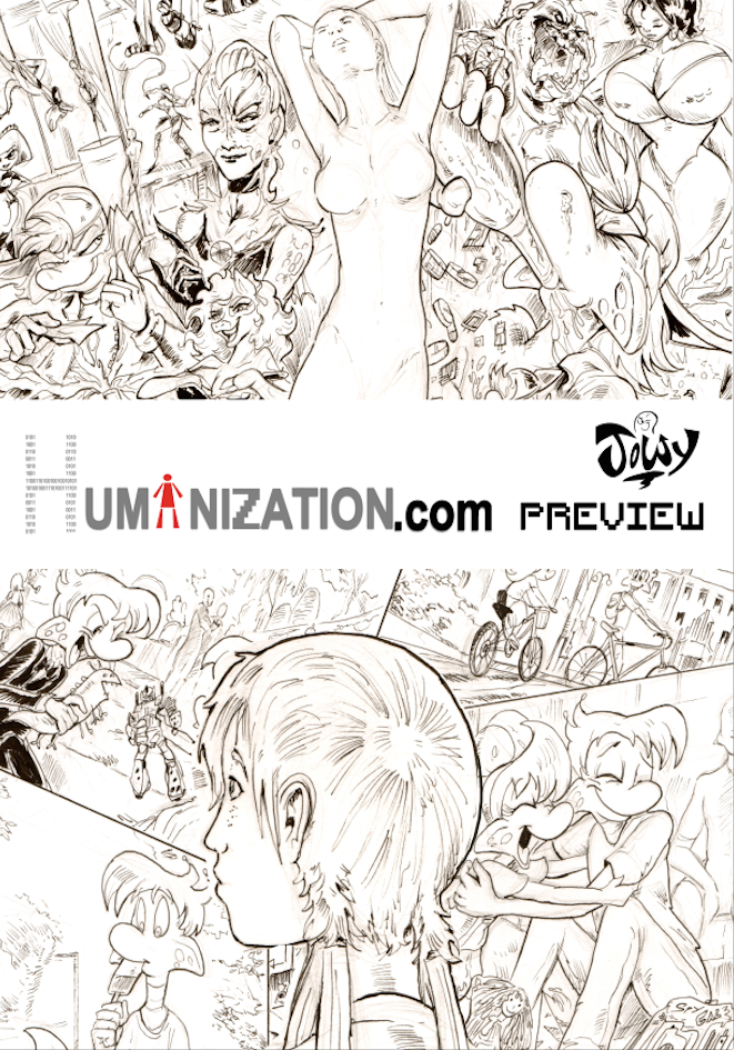 Humanization.com comic preview 3 by Jowybean