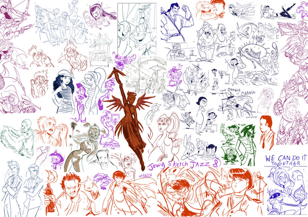 jowy Sketch Jazz 8 by Jowybean
