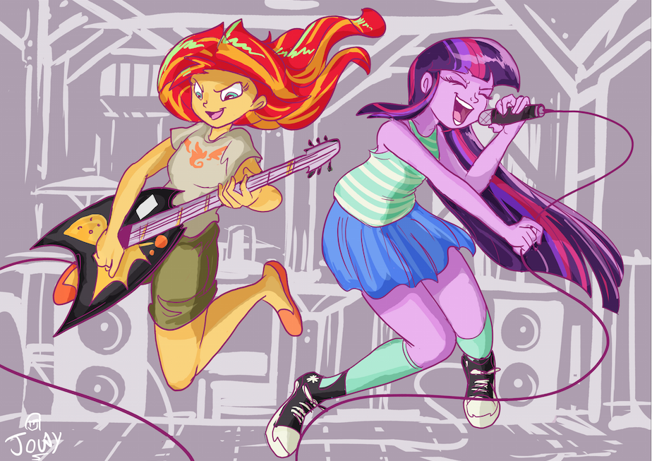 Kids Jump to keep on moving by Jowybean
