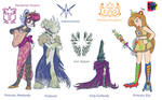 Princesses and their Enemies