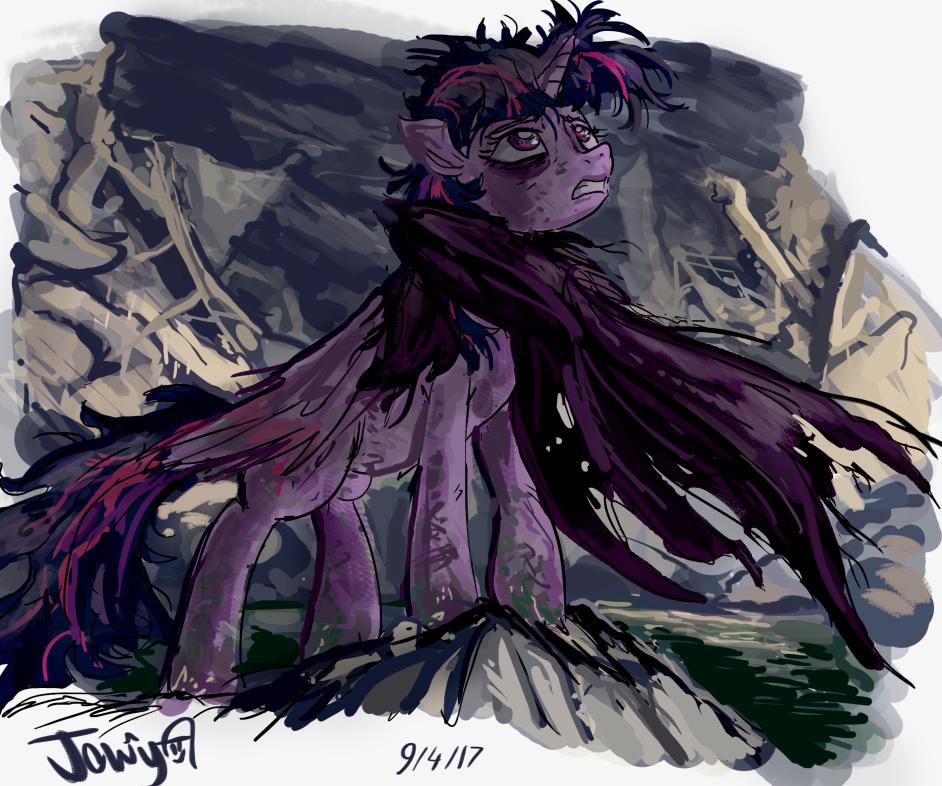 Aftermath princess sketch by Jowybean